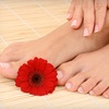 57% Off Mani-Pedi with Nail Designs in Sandy