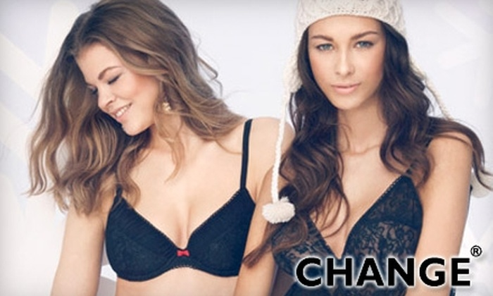 Change - Multiple Locations: $20 for $45 Worth of Designer Lingerie at Change Lingerie