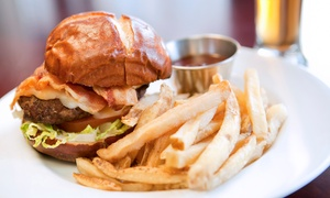 Sign of the Whale: Upscale Pub Lunch or Dinner for Two at Sign of the Whale (Up to 50% Off)