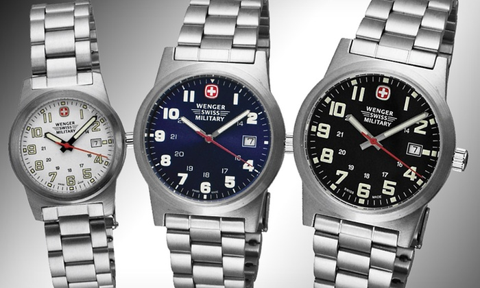 Up To 59 Off Wenger Swiss Watches Groupon