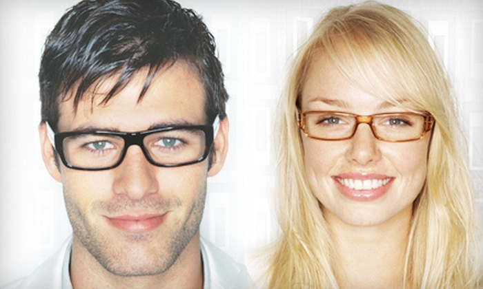 EyeStop - Multiple Locations: $59 for Eye Exam and Two Complete Pairs of Designer Eyeglasses at EyeStop (Up to $299 Value)