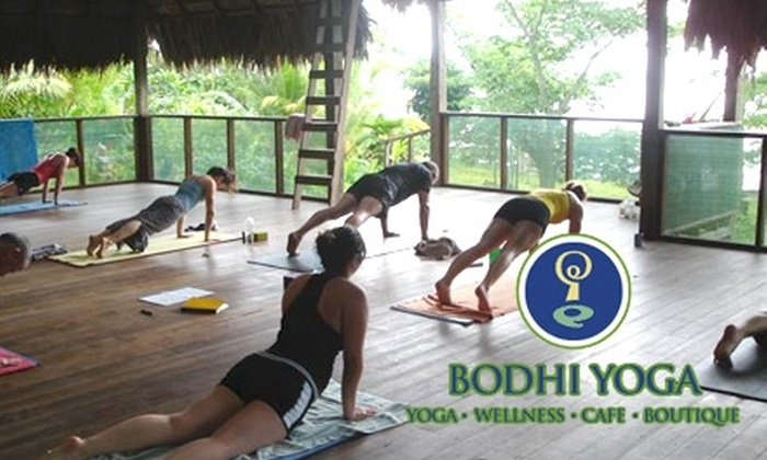 Bodhi Yoga - The Galleria: $49 for One Month of Unlimited Yoga Classes at Bodhi Yoga (Up to $150 Value)