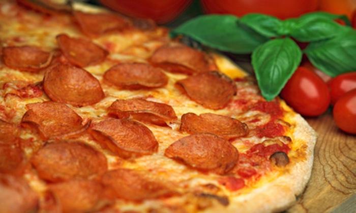 Happy Pizza - Manteca: $7 for $15 Worth of Pizza and Italian Fare at Happy Pizza