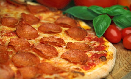 $15 Groupon to Happy Pizza - Happy Pizza in Manteca