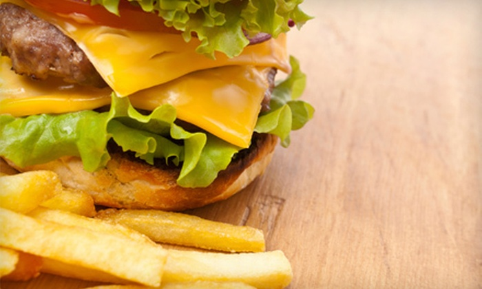 Café Indigo - Southeast Meridian: $15 for a Burger Meal with an Appetizer for Two at Café Indigo (Up to $33 Value)