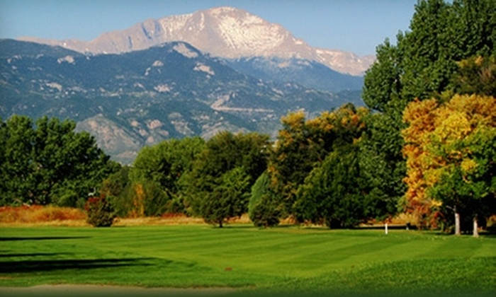 Valley Hi Golf Course - Southeast Colorado Springs: $30 for a 10-Punch Driving-Range Pass ($60 Value) or $49 for Five Adult Golf Lessons ($99 Value) at Valley Hi Golf Course