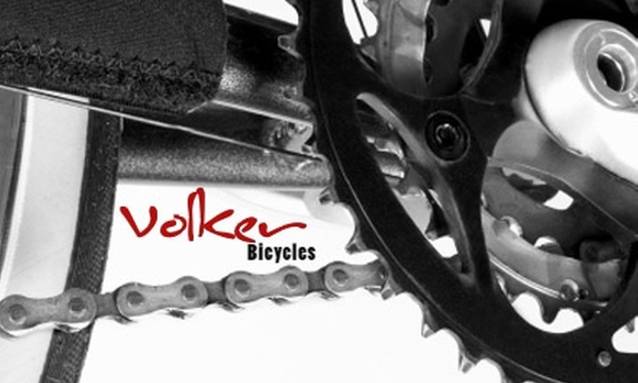 Volker Bicycles - Volker: $18 for One Advanced Tune-Up at Volker Bicycles ($40 Value)