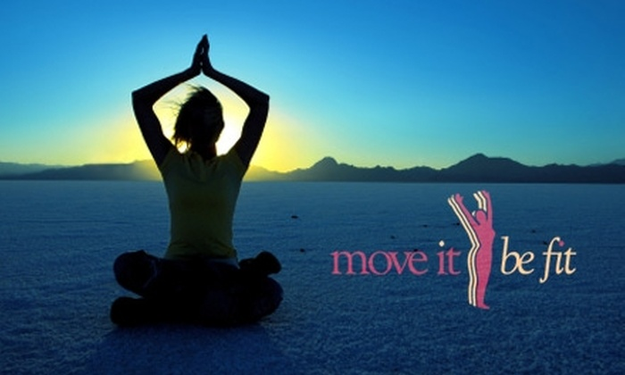 Move It Be Fit  - Durham: $9 for Five Yoga, Pilates, or Total-Body Conditioning Classes at Move It Be Fit ($25 Value)