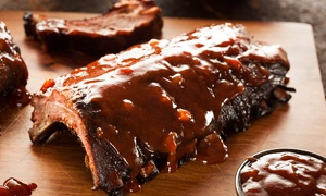 Smoke in the Pit: Barbecued Ribs, Chicken, and Catfish at Smoke in the Pit (40% Off). Two Options Available.