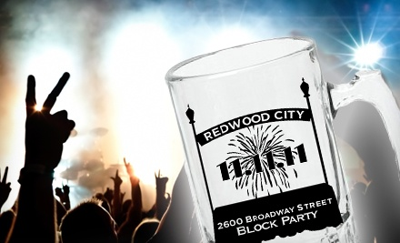 11/11/11 NerdNewYear on Fri., Nov. 11 at 3PM: Block-Party Package for 1 - 11/11/11 NerdNewYear in Redwood City