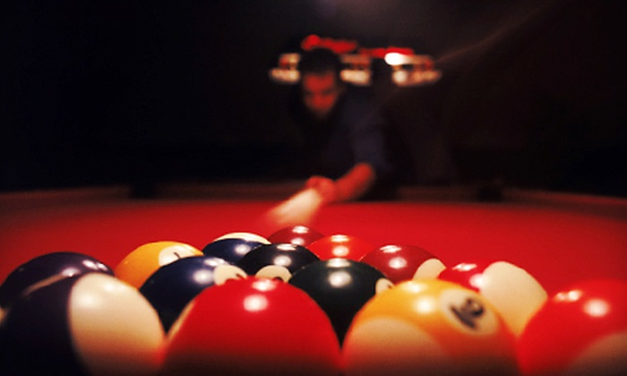 Slate Billiards - Leisureville: Pool Outing with Appetizers and Drinks for Two or Four at Slate Billiards in Boynton Beach (Up to 63% Off)