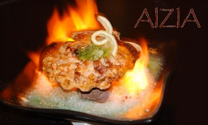 Aizia Restaurant - Hollywood Beach - Quadoman: $20 for $40 Worth of Stylish Asian Dinner or Brunch Fare at Aizia Restaurant