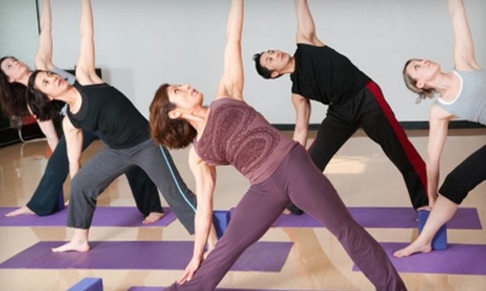 Tualatin Yoga Studio - Multiple Locations: $24 for Four Drop-In Classes at Tualatin Yoga Studio ($48 Value)