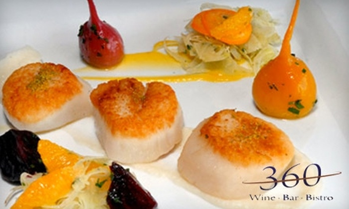 360 Bistro - West Meade: $25 for $50 Worth of Fine Dining and Drinks at 360 Bistro