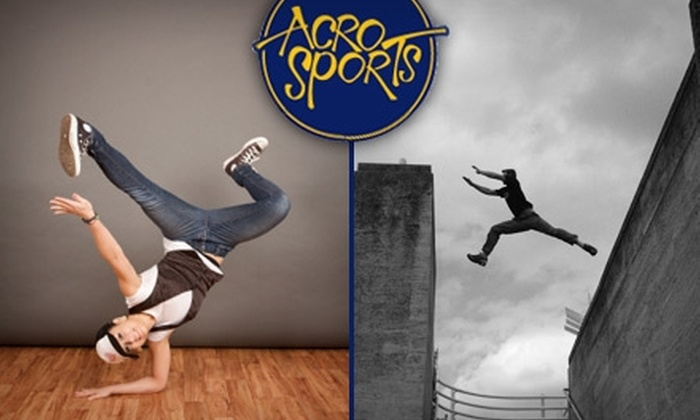 AcroSports - Golden Gate Park: $25 for Two Break Dancing or Parkour Classes from AcroSports ($52 Value)