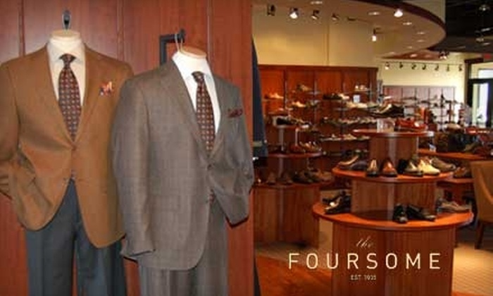 The Foursome - Plymouth - Wayzata: $35 for $70 Worth of Shoes and Men's Apparel at The Foursome