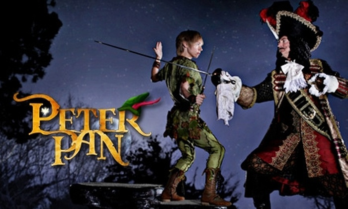 "Alabama Shakespeare Festival - Montgomery: $19 for One of Five Performances of ""Peter Pan"" at Alabama Shakespeare Festival (Up to $42 Value)"