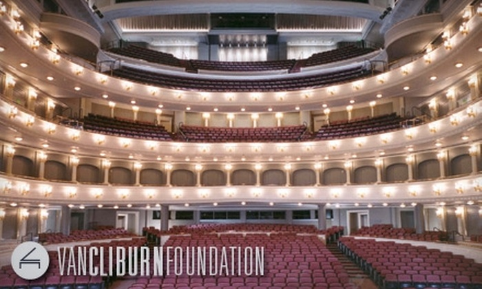 Van Cliburn Foundation - Downtown Fort Worth: $20 for Orchestra II or Mezzanine Seating for a Cliburn Concerts Performance at Bass Performance Hall ($40.50 Value). Choose from Three Performances.