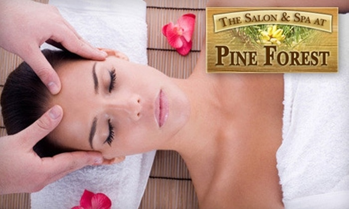 The Salon & Spa at Pine Forest - Litton Business Park: Spa Treatments at The Salon & Spa at Pine Forest. Choose From Two Options.