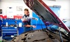 Sun Automotive - Multiple Locations: $39 for Oil Change, Tire Rotation, Wiper Blades, 59-Point Inspection, and Car-Wash Coupon at Sun Automotive ($117 Value)