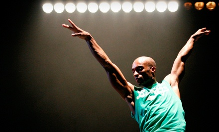 Ticketmaster: Complexions Contemporary Ballet on Thurs., Oct. 13 at 7:30PM: Rear Orchestra or Front Balcony Seating - Complexions Contemporary Ballet in Lafayette