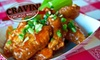 Cravin' Chicago Wings  - West Rogers Park: $10 for $20 Worth of Wings, Burgers, and More at Cravin' Chicago Wings