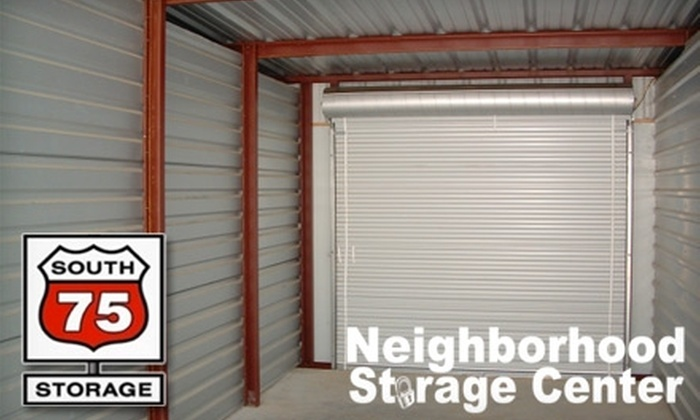 South 75 Storage - Multiple Locations: $30 for $60 Worth of Storage at South 75 Storage