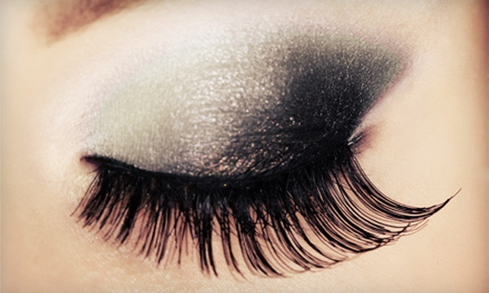L'amour Nails - Constellation Pointe: Full Set of Eyelash Extensions With or Without One Touchup at L'amour Nails in League City (Up to 68% Off)