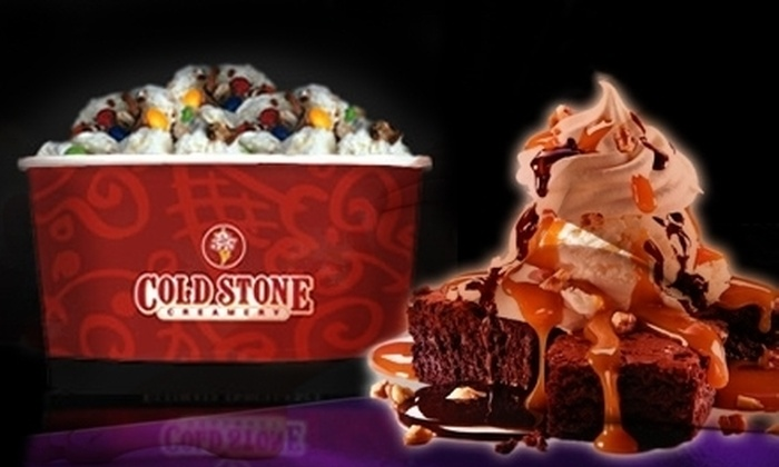 Cold Stone Creamery - Multiple Locations: $10 for $20 Toward Ice Cream, Sundaes, and Smoothies at Cold Stone Creamery