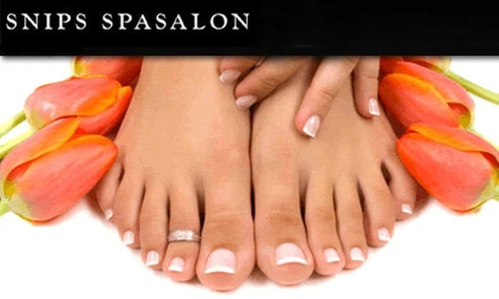 Snips Spa Salon - West Bloomington: $23 for a Feet-Rejuvenating Classic Pedicure From the Loving Hands at Snips Spa Salon