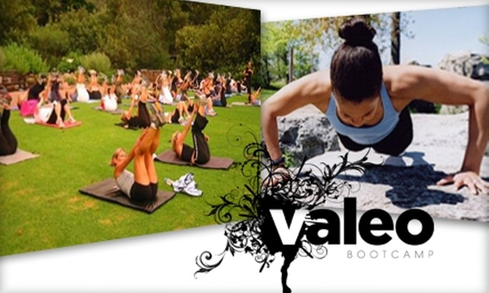 Valeo Boot Camp - Multiple Locations: $49 for 12 Sessions at Valeo Boot Camp ($135 Value)