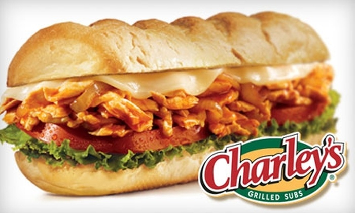 Charley's Grilled Subs - North Little Rock: $5 for $10 Worth of Fresh Subs and More at Charley's Grilled Subs