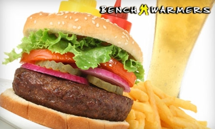Bench Warmers - Stockbridge: $10 for $20 Worth of Upscale Pub Fare and Drinks at Bench Warmers in Stockbridge