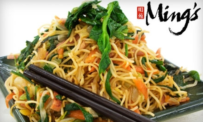 Ming's Chinese Cuisine and Bar - Palo Alto: $10 for $20 Worth of Chinese Cuisine and Drinks at Ming's Chinese Cuisine and Bar in Palo Alto