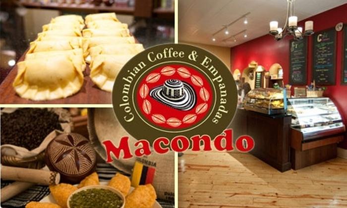 Macondo Colombian Coffee & Empanadas - Chicago: $5 for $10 Worth of Gluten-Free Empanadas, Fair-Trade Coffee, and More from Macondo Colombian Coffee & Empanadas