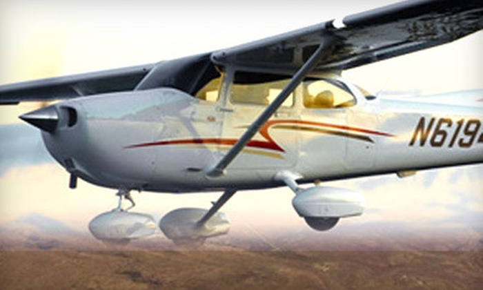 Eagle Aircraft - Chicago: 20- or 60-Minute Discovery Flight Experience for Two from Eagle Aircraft in Valparaiso (Up to Half Off)