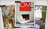 "East Coast Home + Design Magazine: $14 for a One-Year Subscription to ""East Coast Home + Design"" Magazine ($28 Value)"