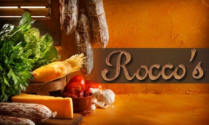 Rocco's Capriccio - Little Italy: $20 for $40 of Italian Fare and Drinks at Rocco's Capriccio