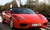 SpeedSafari - Mehrere Standorte: 30, 45 od. 90 Min. Ferrari F355 Spider oder 360 Spider selber fahren inkl. 10 Min. Einweisung bei SpeedSafari ab 54,90 €