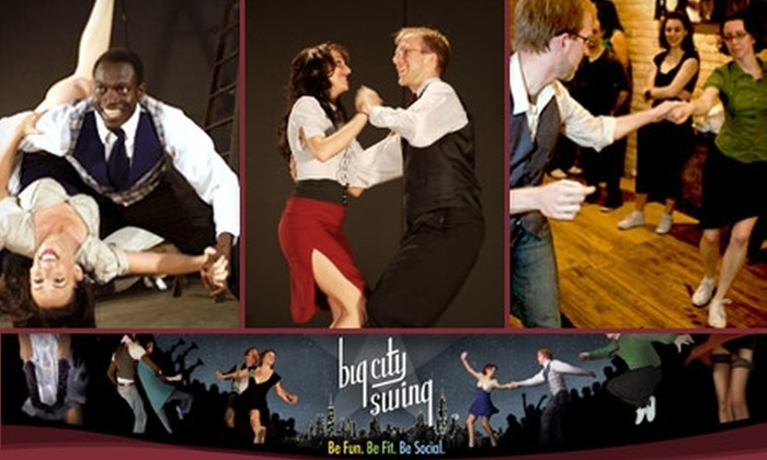 Big City Swing - West Loop: $25 for a Four-Week Group Dance Class at Big City Swing