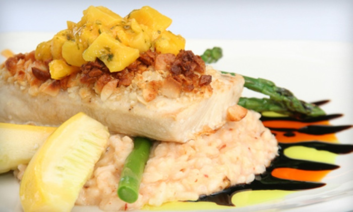 Cannons Seafood Grill - Dana Point: $25 for $50 Worth of Seafood, Steaks, and Drinks at Cannons Seafood Grill in Dana Point