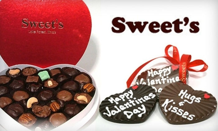 Sweet's - Lake Forest: $10 for $20 Worth of Artisanal Chocolates and Confections at Sweet's in Lake Forest