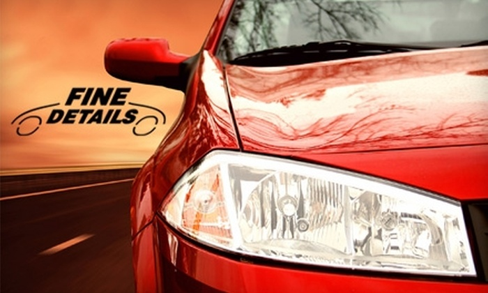 Fine Details - Multiple Locations: $60 for Hand Car Wash and Paint Protection ($129 Value) or $70 for Truck, Van, or SUV Wash and Paint Protection ($149 Value) at Fine Details