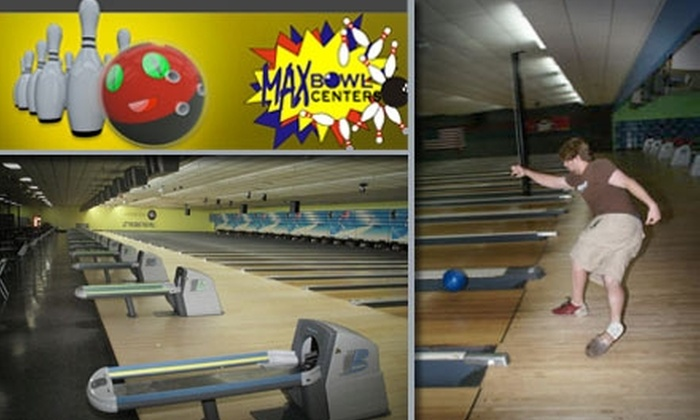 MaxBowl Centers - Baytown: $25 for Two Hours of Bowling, Shoe Rental, and a Pitcher of Soda for Up to Six People at MaxBowl Centers ($52 Value)