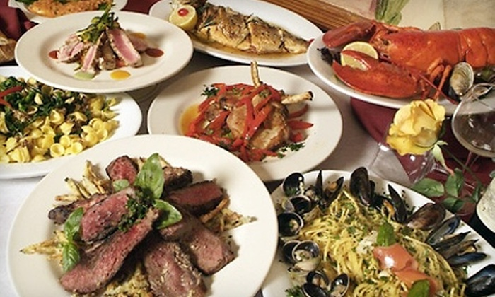 Trattoria Lucia - Bellerose Floral Park: $15 for $30 Worth of Italian Cuisine and Drinks and Two Glasses of Sparkling Wine ($12 Value) at Trattoria Lucia in Bellerose ($42 Total Value)