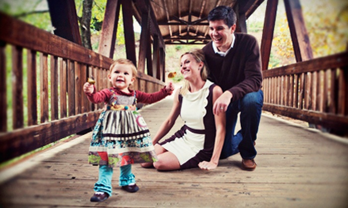 Jessica Horwitz Photography - Lawrenceville: Photo Session and $60 or $120 Credit Toward Cards or Prints from Jessica Horwitz Photography (Up to 61% Off)
