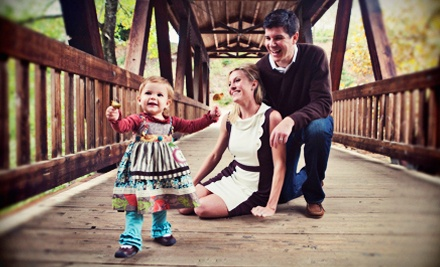 1-Hour Photo Session and $60 Toward Holiday Cards and Prints (a $145 value) - Jessica Horwitz Photography in