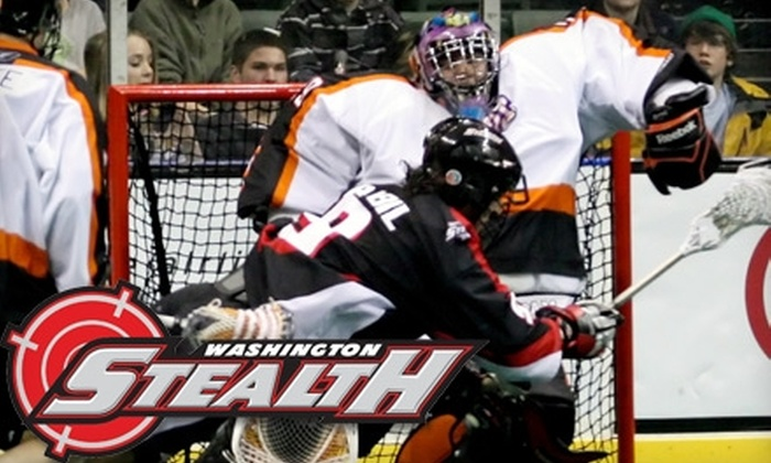 Washington Stealth - Port Gardner: One Ticket to a Washington Stealth Lacrosse Game at Comcast Arena in Everett (Up to $39.25 Value). Choose from Four Options.