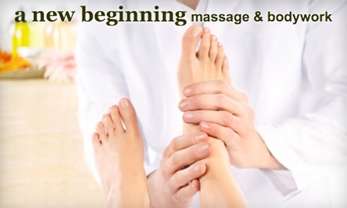 a new beginning massage & bodywork - Snohomish: $100 for Holiday Head-to-Toe Spa Treatment at a new beginning massage & bodywork ($200 Value) in Snohomish