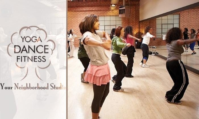 Your Neighborhood Studio - Lucerne - Higuera: $14 for Two Dance Classes at Your Neighborhood Studio ($28 Value)